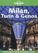 Lonely planet Milan, Turin, Genoa