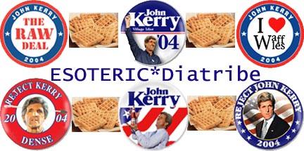 Google bomb voor John Kerry: Waffles
