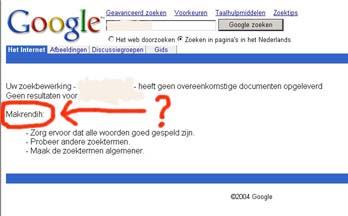Google foutjes hacken makrendih