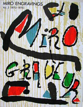 Joan Miro Engraver